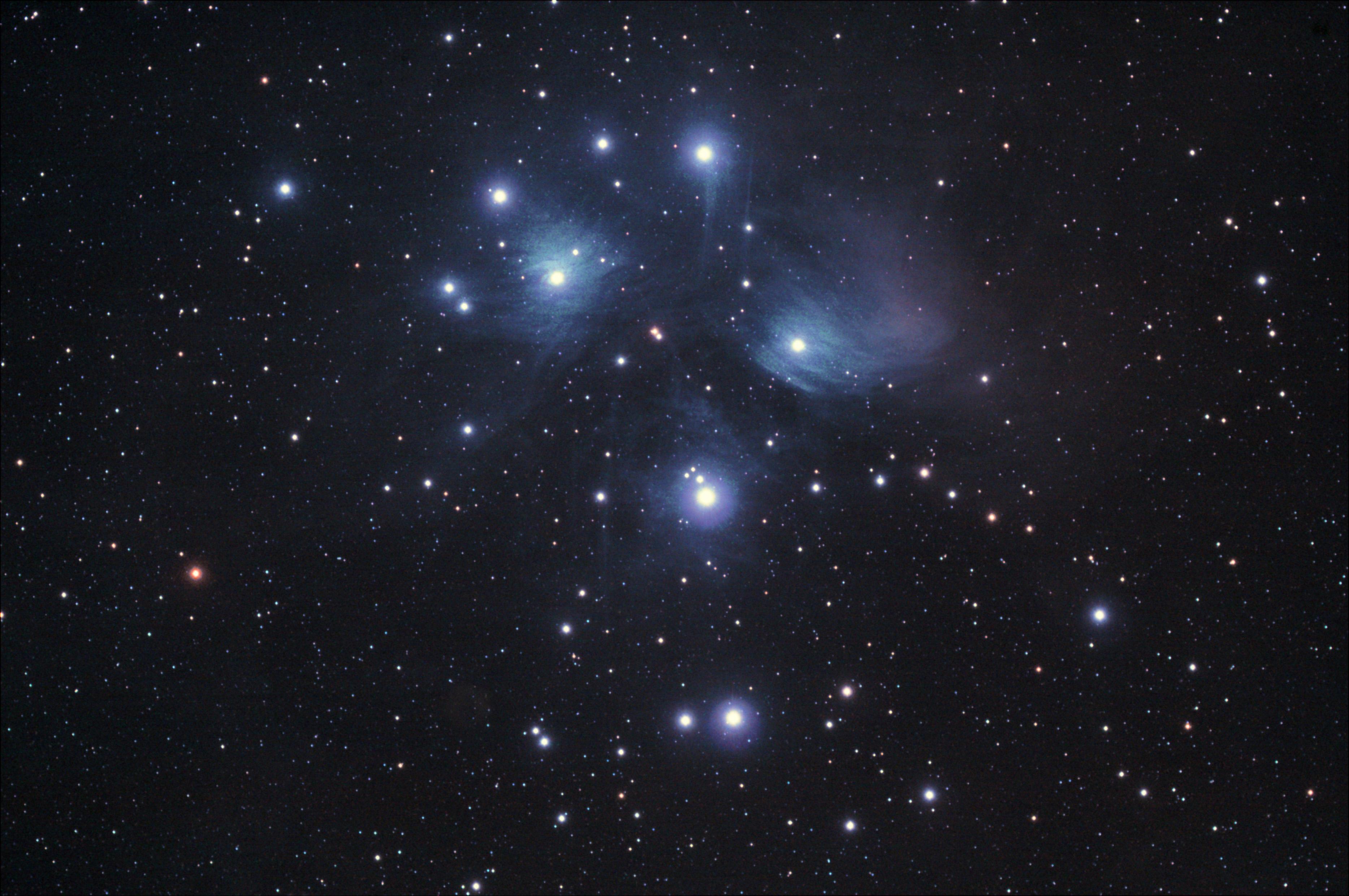ZTA - M45 - Les pleiades